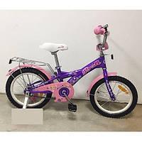 """Двухколесный велосипед Profi Original girl Фиолетовый 20"""" (G2063) с подножкой"""