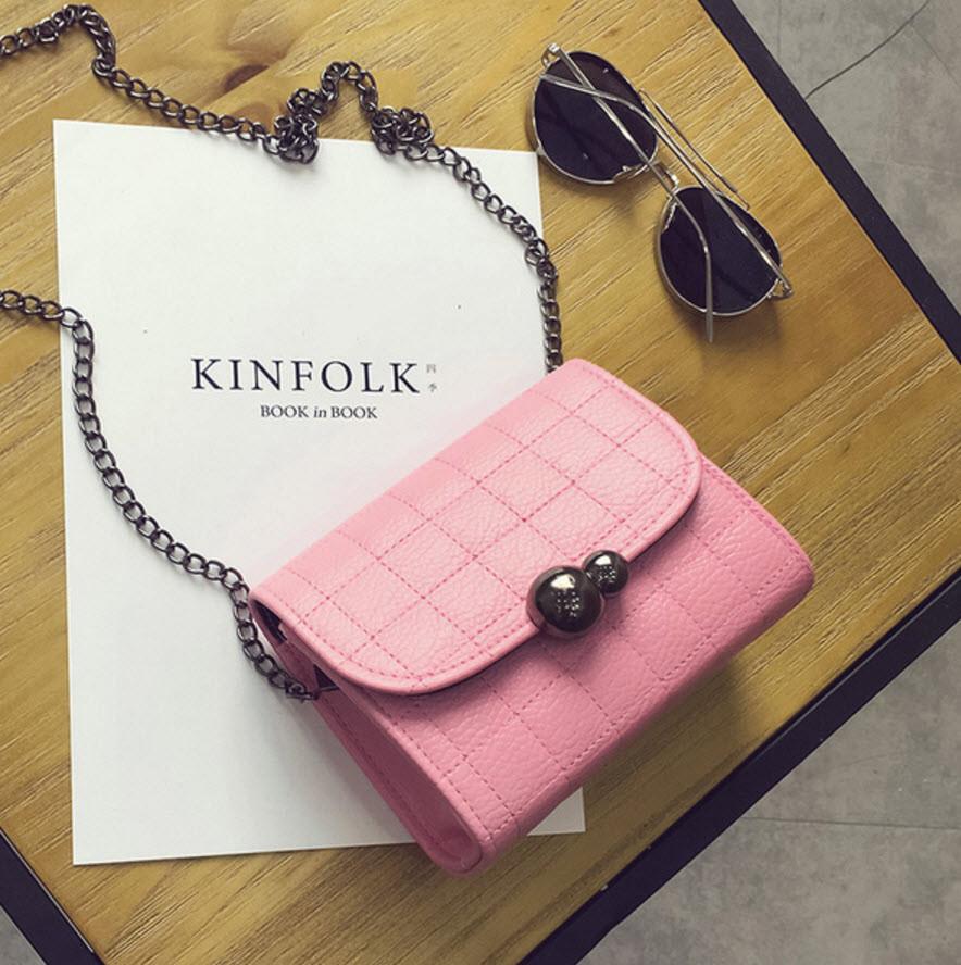 Стильная Fashion сумка сундук с ретро защелкой