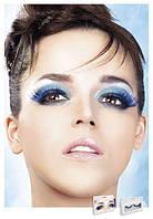 Накладные ресницы перьевые Light-Blue Feather Eyelashes