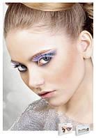 Накладные ресницы перьевые White Glitter Eyelashes