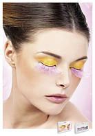 Накладные ресницы перьевые Pink Glitter Eyelashes