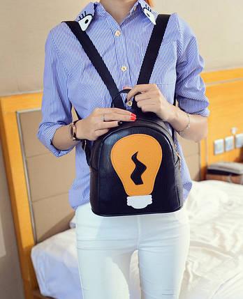 Оригінальний рюкзак з лампочкою, фото 2