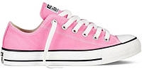 Женские низкие кеды Converse Chuck Taylor All Star Pink Конверс розовые