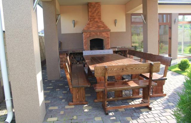 Деревянная мебель для беседок от производителя фото 2