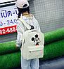 Мультяшный набор 3в1 Микки Маус, рюкзак, сумка, клатч, фото 5