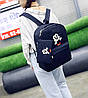 Мультяшный набор 3в1 Микки Маус, рюкзак, сумка, клатч, фото 6