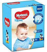 Подгузники Huggies Ultra Comfort 4 (7-16 кг) 96 шт Box Boy для мальчиков