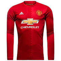 Футбольная форма Манчестер Юнайтед с длинным рукавом 16/17 сезона, домашняя
