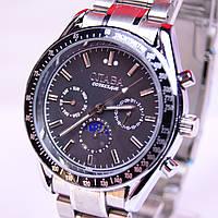 Механические часы Слава автоподзавод (черный циферблат), фото 1