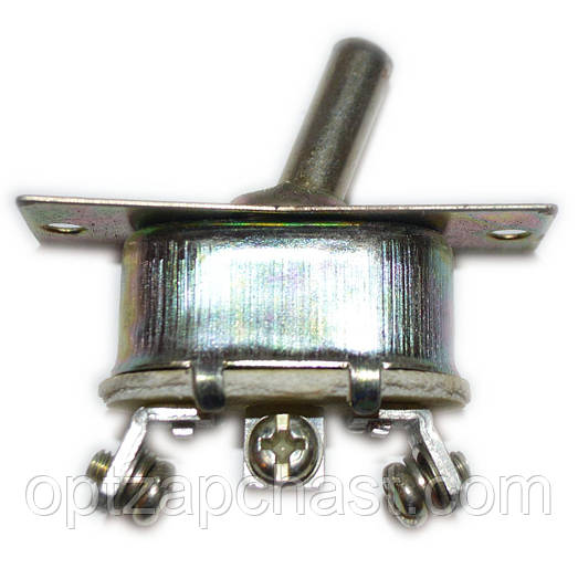 Тумблер 3-х положений (металл) 12V 24V (П-51.02.3705)