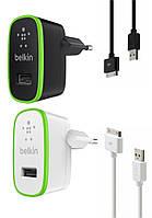 Сетевое зарядное устройство Belkin 2 в 1 для iPhone 3G 3GS / 4 4S / iPad 2 3