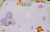 Обои на стену, виниловые, Азбука ВНК3 0589, детские обои, 0,53*10м
