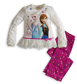 Костюм на девочку Frozen, кофта и штаны