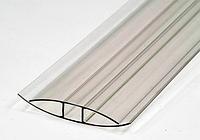 Профиль соединительный HP 8 мм прозрачный