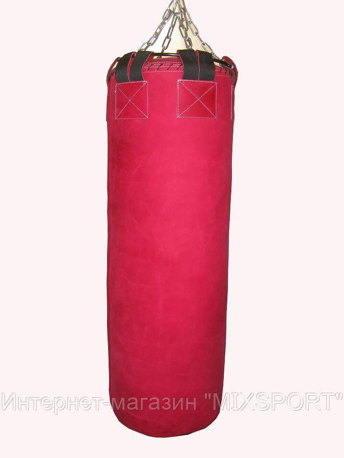 Боксерский мешок SPURT 170х40 кожа RED 2,2-3,0 мм.