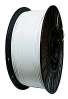 ABS АБС нить 1.75 мм пластик для 3d печати, белый, 1 кг