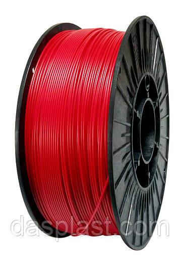 АБС нить 1.75 мм пластик для 3d печати, красный, 1 кг