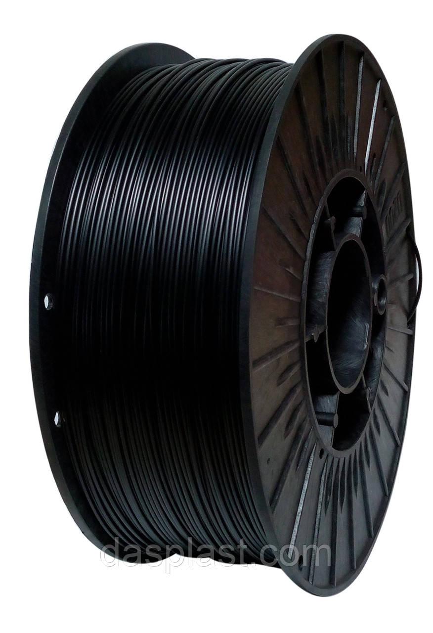 АБС нить 1.75 мм пластик для 3d печати, черный