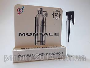 Унісекс масляні духи з феромонами Монталь манго Montale Mango Manga 5 ml (ліц) пробник аромат парфум