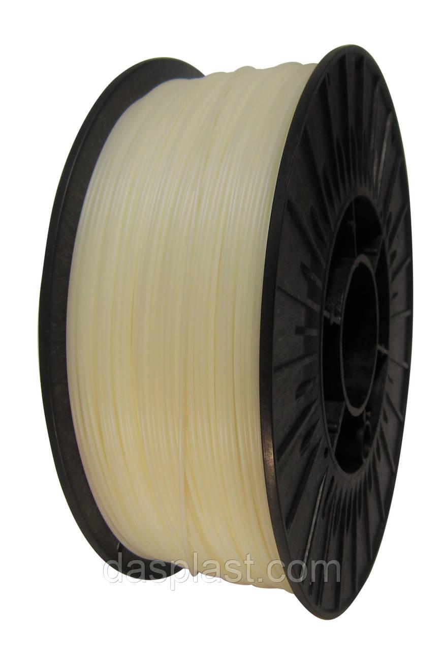 АБС нить 1.75 мм пластик для 3d печати, Неокрашенный, 0,75 кг