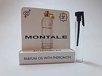 Масляные духи с феромонами Montale Mukhallat 5 ml