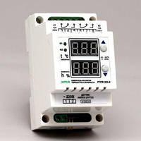 Регулятор температуры и влажности двухканальный в корпусе на DIN-рейку ( 10А/2кВт)  РТРВ-10/D-2_БД