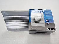 Вентилятор Gorenje BVN 100 WS с обратным клапаном