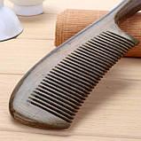 Гребень для волос из дерева сандал, фото 2