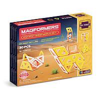 Магнитный конструктор Мое первое путешествие в пустыню, 30 элемента, серия Для самых маленьких, Magformers