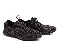 """Кроссовки """"Ok Shoes"""" №D-4 black (р.40-45).Оптом."""