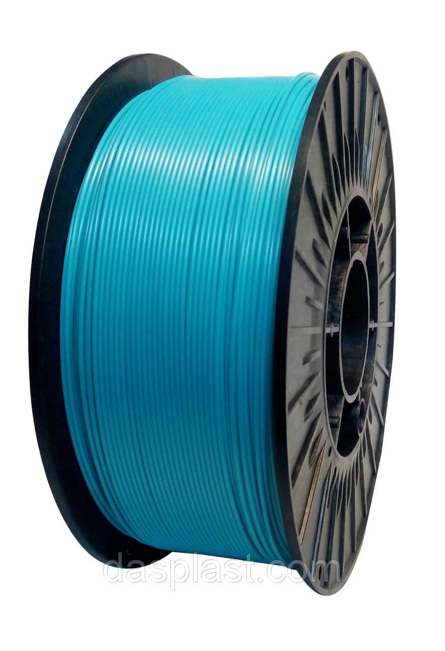 АБС пластик бирюзовый 0,5 кг 1.75мм  для 3d принтеров и ручек