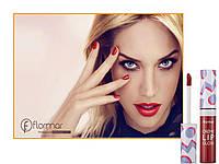 -20-33% (при регистрации) Блеск для губ   FLORMAR ARTY POP RED RUSH
