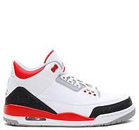 Мужские баскетбольные кроссовки Nike Air Jordan 3 Fire Red