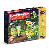 Магнитный конструктор Мое первое путешествие в лесные края, 32 элемента, серия Для самых маленьких, Magformers