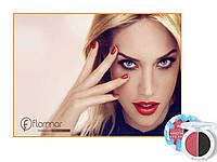 -20-33% (при регистрации) Двойные тени  FLORMAR ARTY POP ROSE&SMOKE