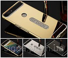 Чехол бампер для Huawei Nexus 6P зеркальный