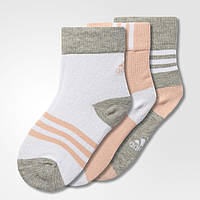 Детские носки Adidas Performance Thin Crew Socks 3 Pairs (Артикул: BP7859)
