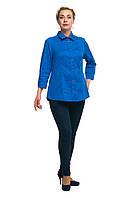 Женская блузка рубашка большого размера 1710017/6