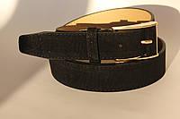 Качественный ремень-полоска женщинам, цвет - черный, 81/65 (цена за 1 шт. + 16 гр.)