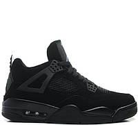 Мужские баскетбольные кроссовки Nike Air Jordan IV Retro Black