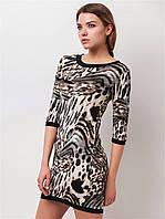 Женское платье с леопардовым принтом 90149, фото 1