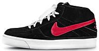 Мужские высокие кроссовки Nike 6.0 Mavrk Mid 2 Black Red White Найк черные
