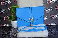 Стильный клатч, синий., фото 1