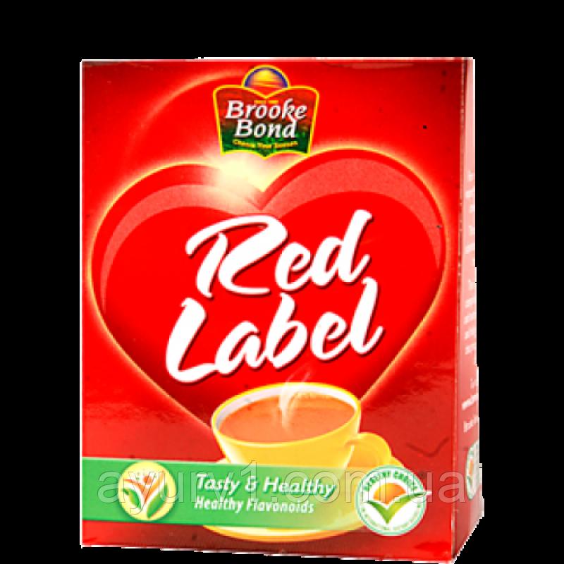 Гранулированный чай без специй Рэд Лэйбл Брук Бонд / Rad Label Brooke Bond / 100 гр
