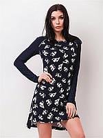 Повседневное женское платье с оригинальным принтом 90150, фото 1