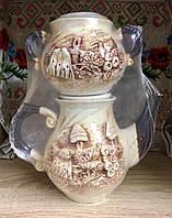 Керамический заварник и сахарница
