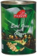 Чай Мервин Mervin  Earl Grey with Ginger 100 гр (бергамот+имбирь).