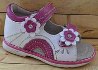 Детские кожаные босоножки для девочек размеры 21-25