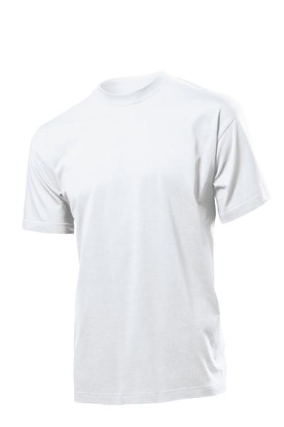 Белые мужские футболки.
