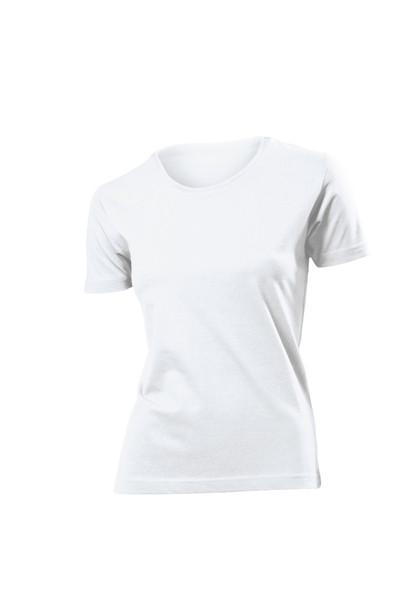 Белые женские футболки.